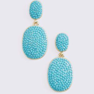 Kate Spade Pave The Way turquoise dangle Earring